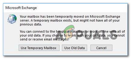 Как исправить ошибку «Ваш почтовый ящик был временно перемещен»?