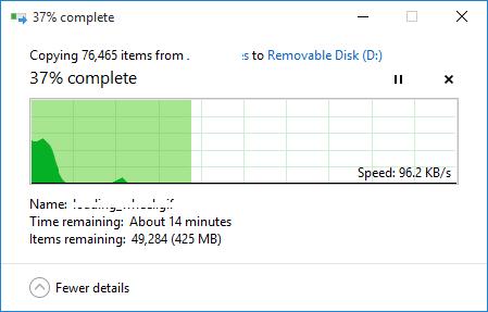 Как исправить медленную скорость передачи USB 3.0?