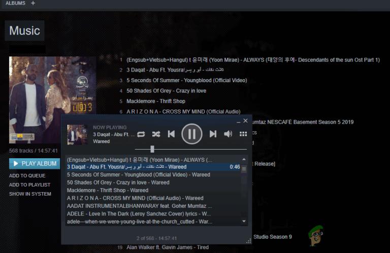 Как добавить музыку в музыкальный проигрыватель Steam?
