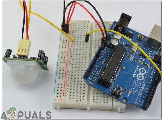 Как сделать охранную сигнализацию, используя ИК-датчик и Arduino?
