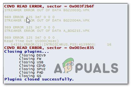 Как исправить ошибку чтения CDVD в эмуляторе PCSX2