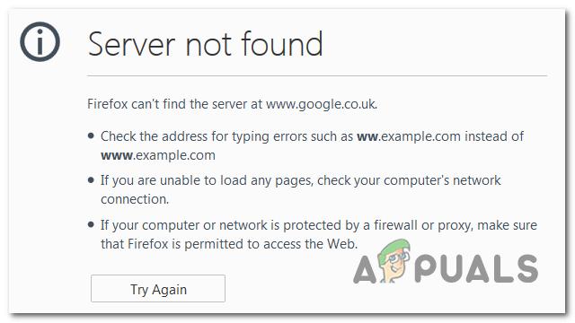 Сервер не обнаружил ошибку в Firefox? Устраните неполадки, используя эти шаги