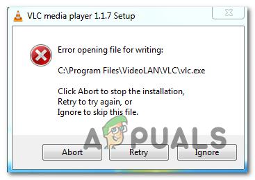 Исправлено: невозможно открыть файл для записи с помощью VLC Media Player