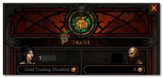 Что делать, если в Diablo 3 отключена торговля золотом?