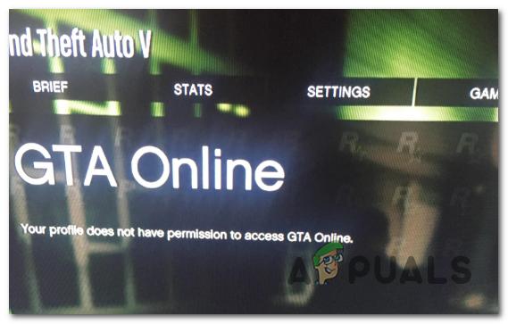 Профиль не имеет разрешения на доступ в GTA Online (Fix)