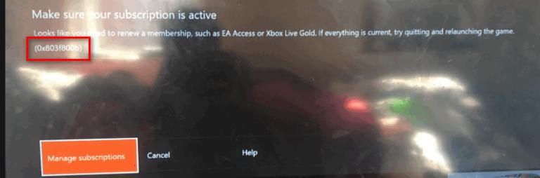 [Fix] 0X803F800B Ошибка при запуске игры Xbox One