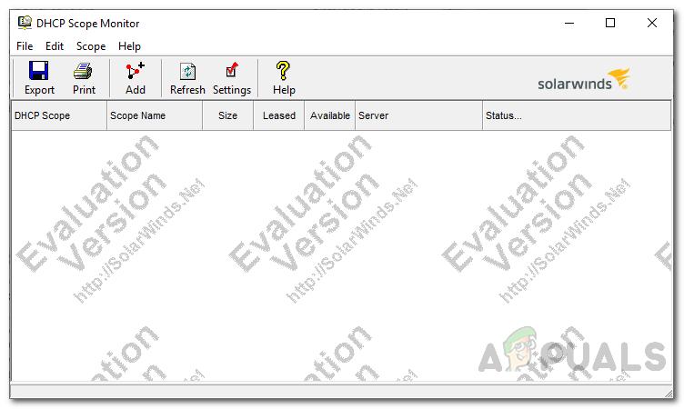 Как управлять областями DHCP, на которых заканчиваются IP-адреса?