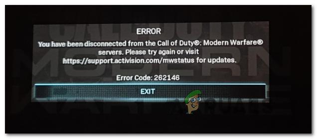 Решить код ошибки современной войны ХПК 262146