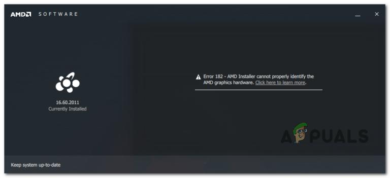 Как исправить ошибку драйвера AMD 182?