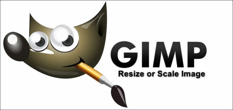 Как масштабировать или изменять размеры изображений в GIMP?