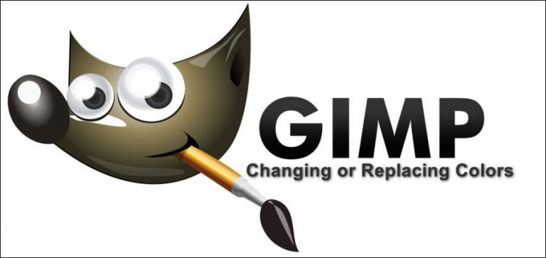 Как изменить или заменить цвета в GIMP?