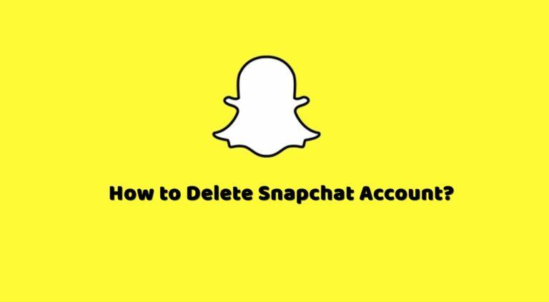 Как удалить свой аккаунт Snapchat?