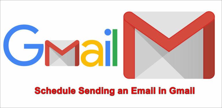 Как запланировать отправку электронной почты в Gmail?