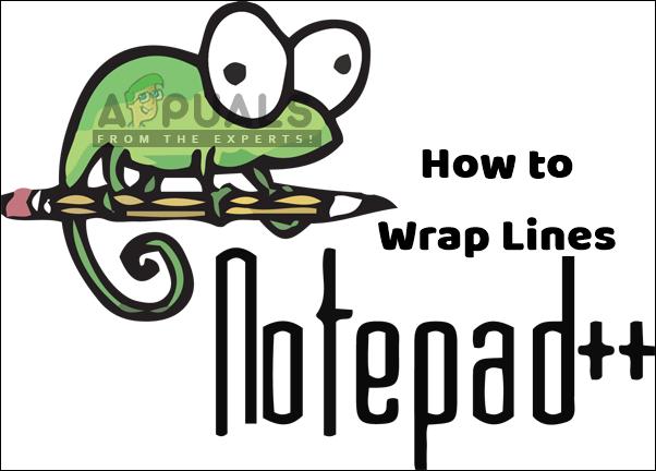 Как обернуть строки в Notepad ++