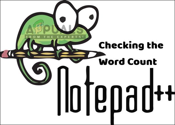 Как проверить количество слов в Notepad ++?