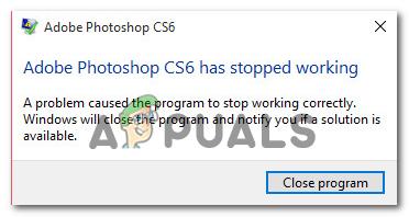 Сбои в Photoshop при печати в Windows 10