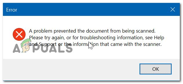 Как решить проблему Предотвращение сканирования документа