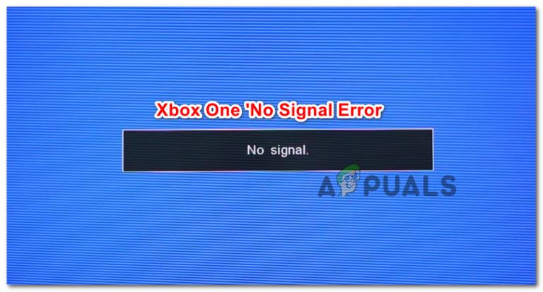 Как исправить ошибку Xbox One «Нет сигнала»?
