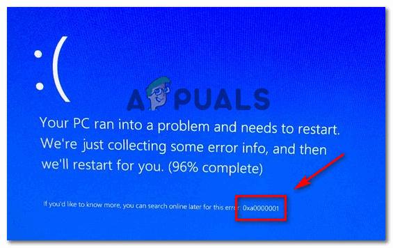Как исправить BSOD 0xA0000001 на Windows 10