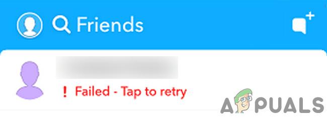 Исправлено: не удалось отправить в Snapchat