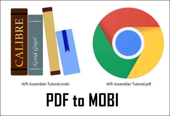 Как конвертировать PDF в MOBI?