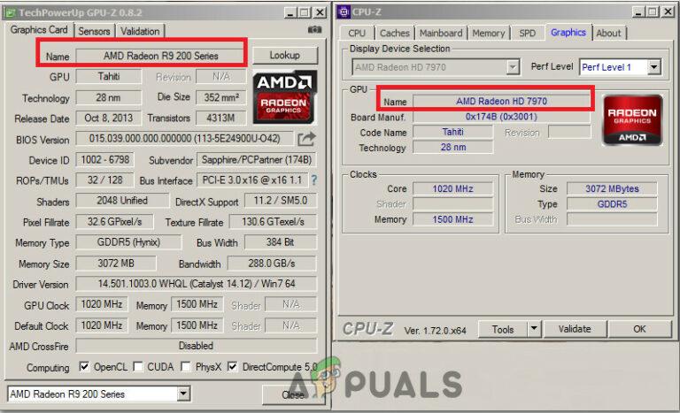 Как исправить GPU, обнаруженный с неправильным номером модели?