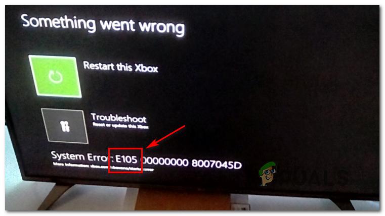 [FIX] Ошибка запуска системы Xbox One E105