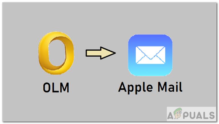 Как импортировать файлы OLM в Apple Mail?