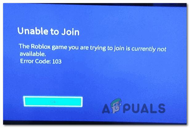 Как исправить Roblox 'Код ошибки -103' на Xbox One?