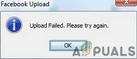Исправлено: загрузка Facebook не удалась – Appuals.com