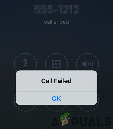 Исправлено: ошибка вызова в iPhone