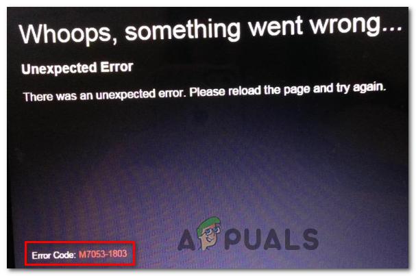 Как исправить код ошибки Netflix M7053-1803 в браузерах на основе хрома