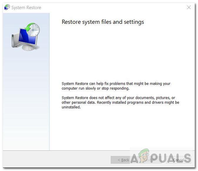 Исправлено: восстановление системы не удалось извлечь файл из точки восстановления