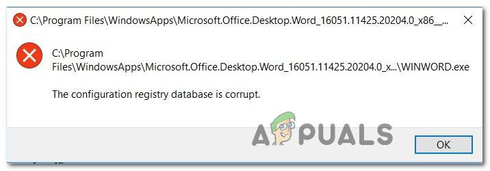 [FIX] База данных реестра конфигурации повреждена