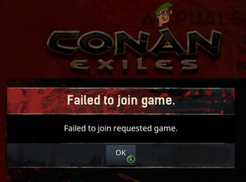 Исправлено: не удалось присоединиться к запрошенной игре в Conan Exiles.