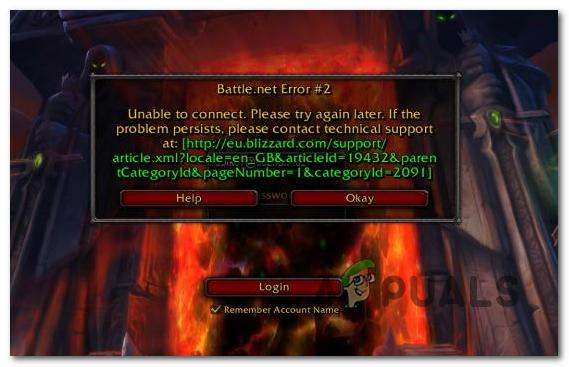 Как исправить ошибку Battle.net №2 в играх Blizzard