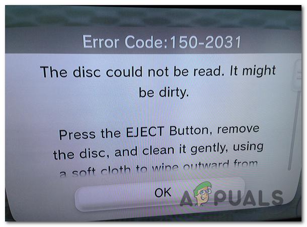 Как исправить код ошибки Wii U 150 2031