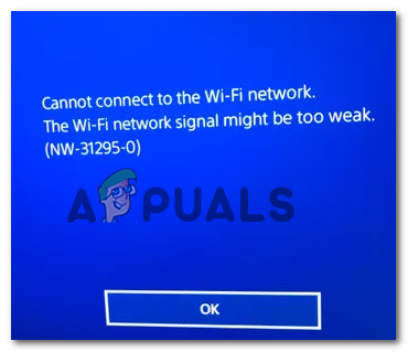 Как исправить код ошибки PS4 NW-31295-0