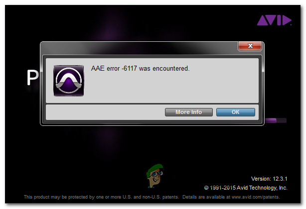 Как исправить ошибку AAE Pro Tools — 6117