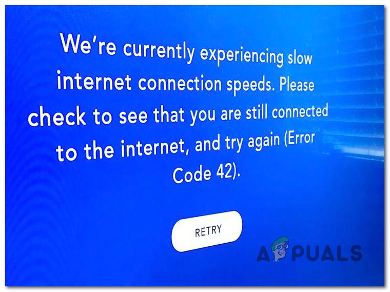 Как исправить код ошибки 42 Disney Plus