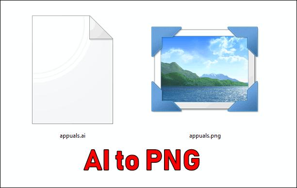 Как конвертировать AI в PNG?