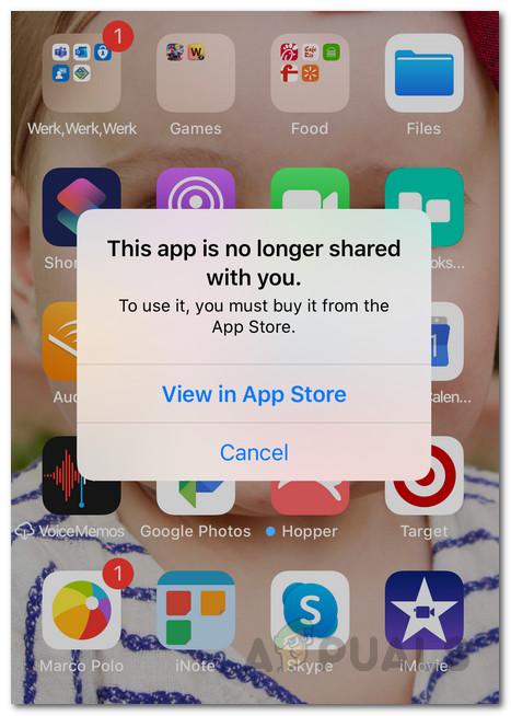 Как исправить это приложение больше не доступно вам на вашем iPhone / iPad