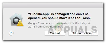 ИСПРАВЛЕНИЕ: поврежденное приложение не открывается из-за ошибки MacOS