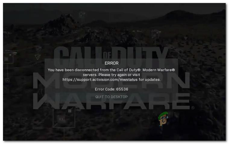 [FIX] Код ошибки 65536 в COD Modern Warfare