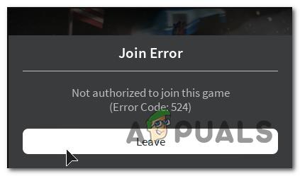 Как исправить код ошибки Roblox 524?