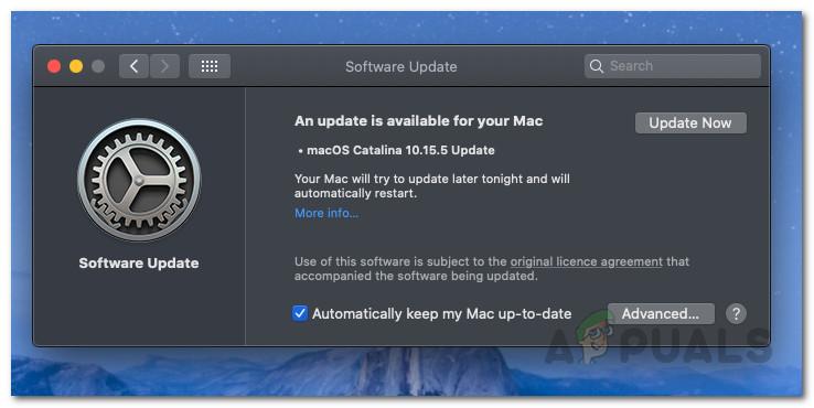 Как исправить MacOS не обновляется