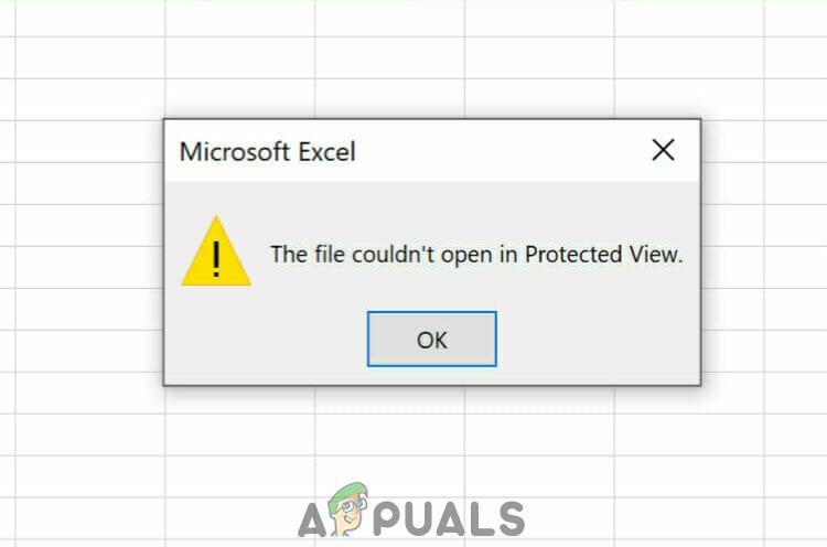 [FIX] Не удалось открыть файл в режиме защищенного просмотра