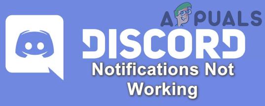 Исправлено: уведомления Discord не работают