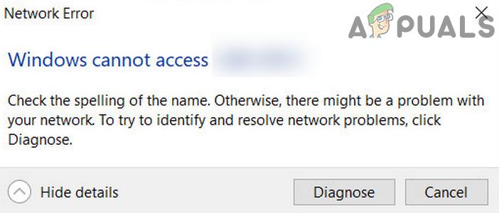 Исправлено: невозможно получить доступ к общим сетевым ресурсам после обновления до 2004 г.