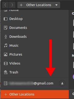 Как получить доступ к Google Диску из файлового менеджера Ubuntu?